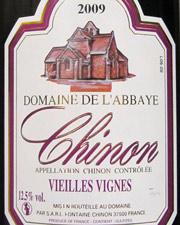 Domaine de l'Abbaye, Chinon Vieilles Vignes 2009